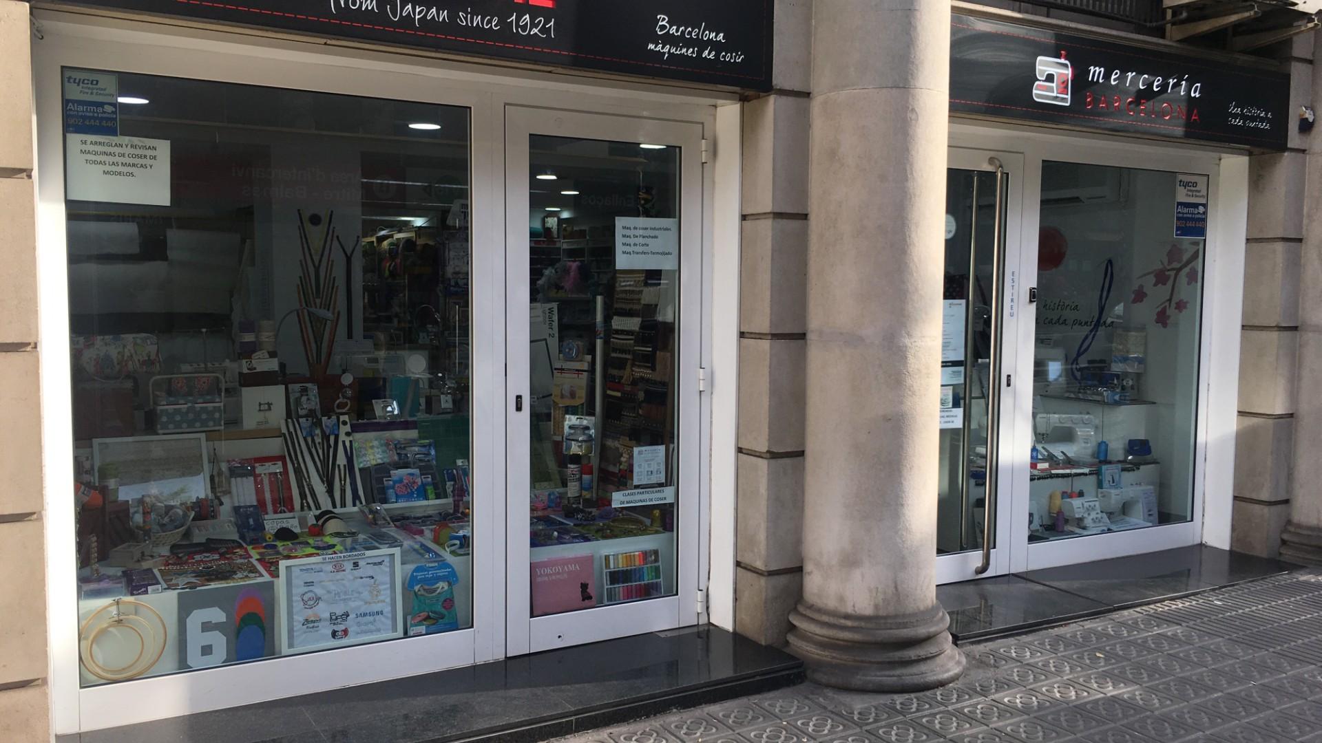 Foto exterior tienda