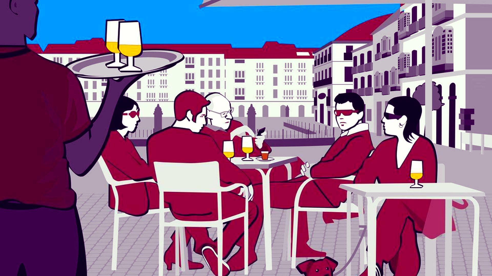 Bar de tapas en Málaga
