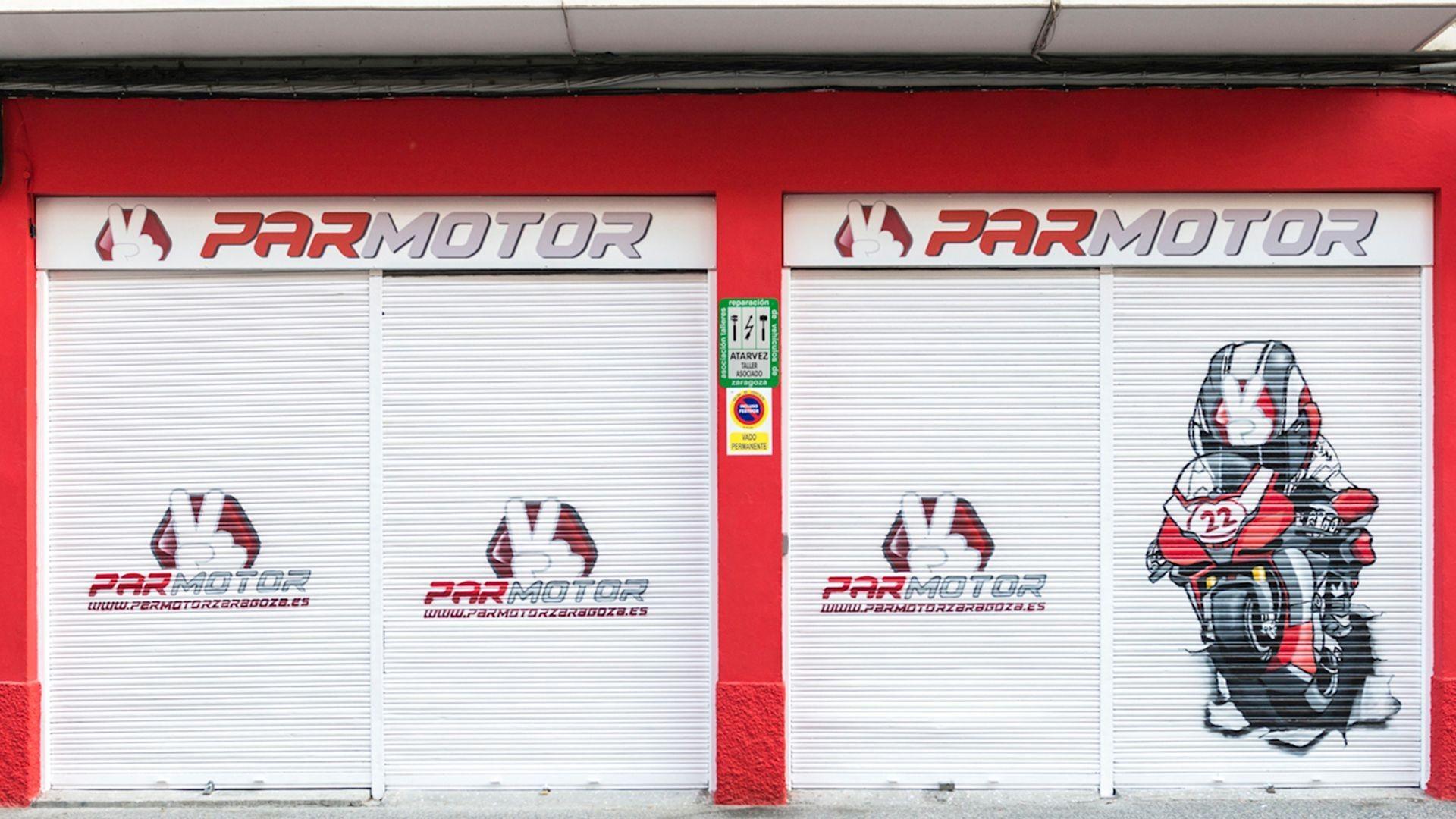 Tienda y reparación de motos en Zaragoza