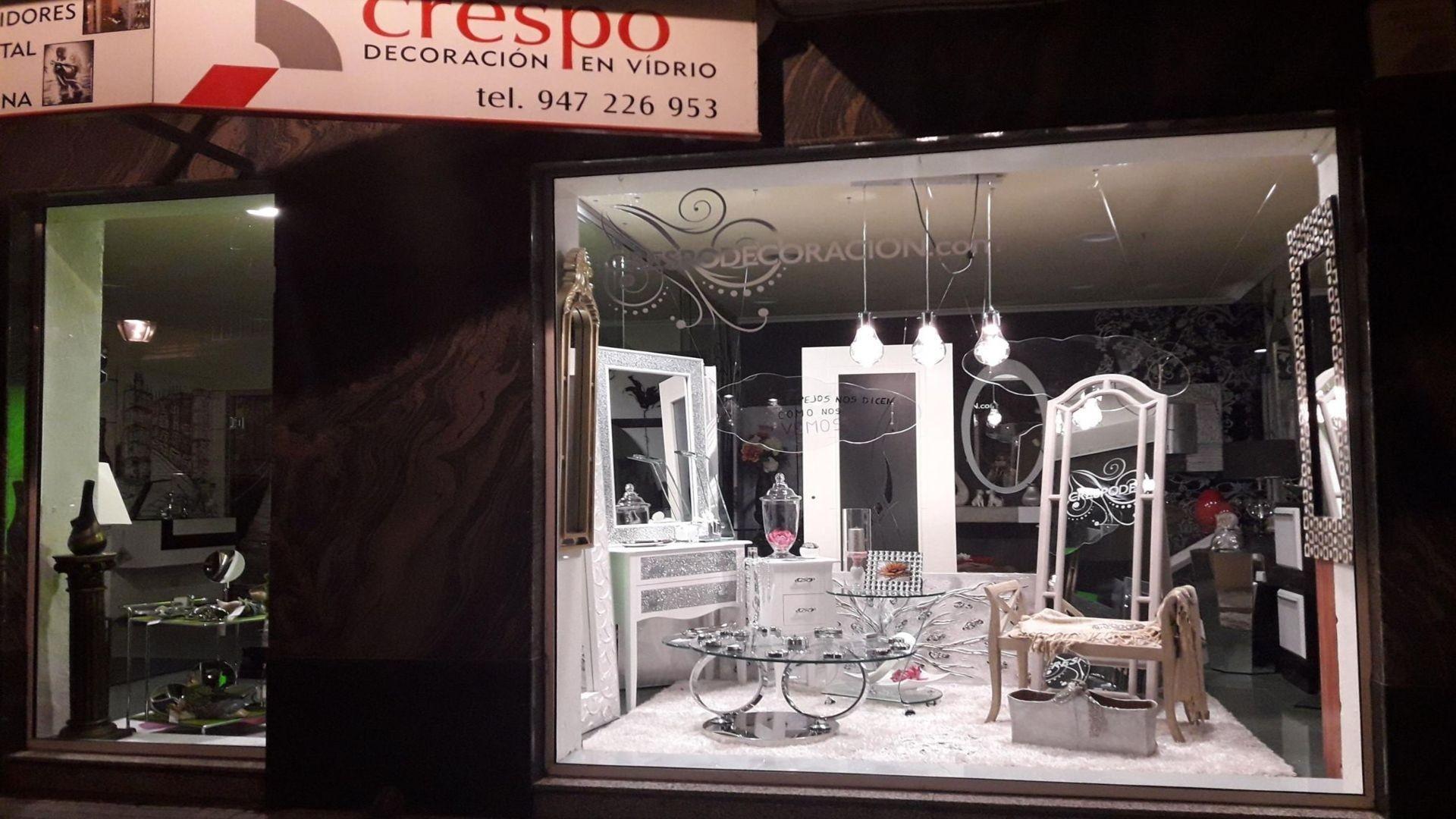 Cristalería decorativa Burgos