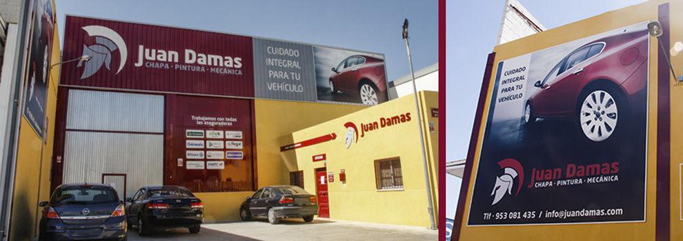 Taller de mecánica, chapa y pintura en Jaén