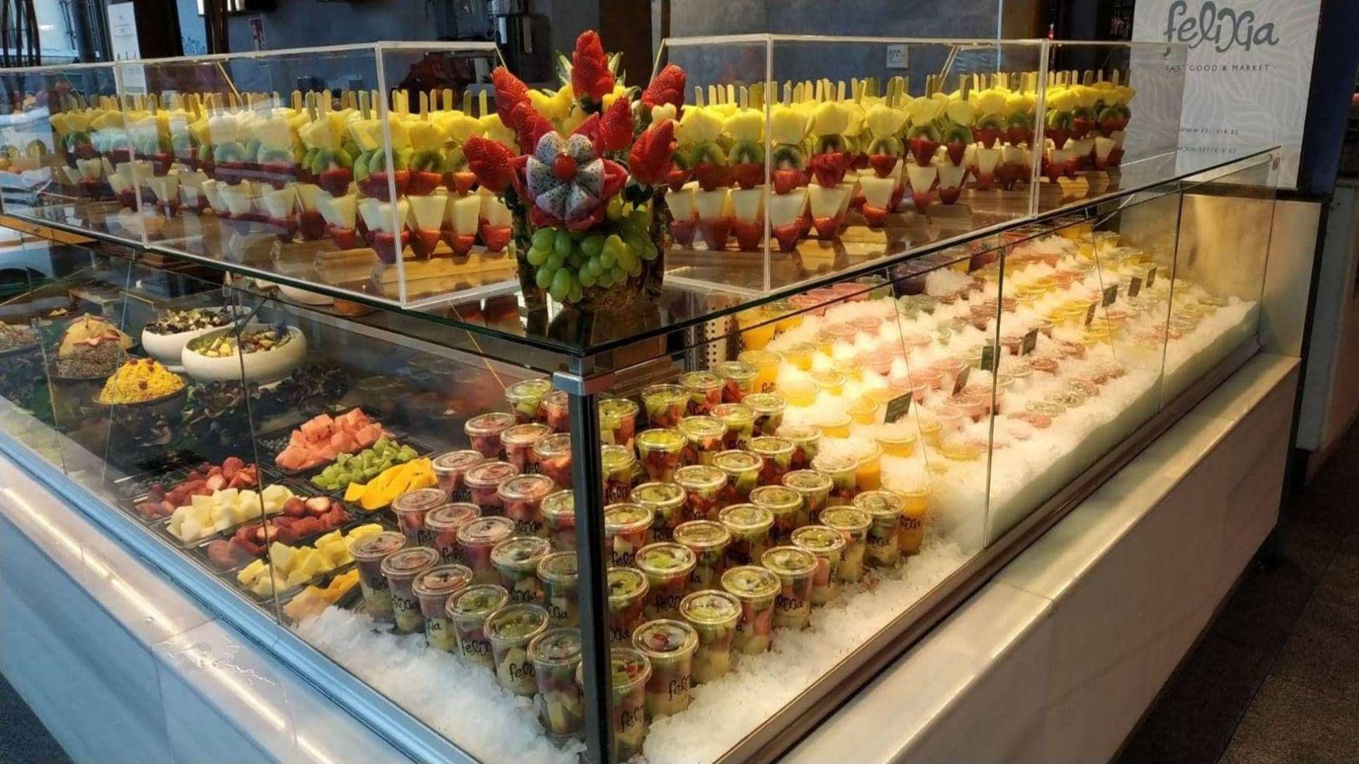 Frutas para tomar Madrid