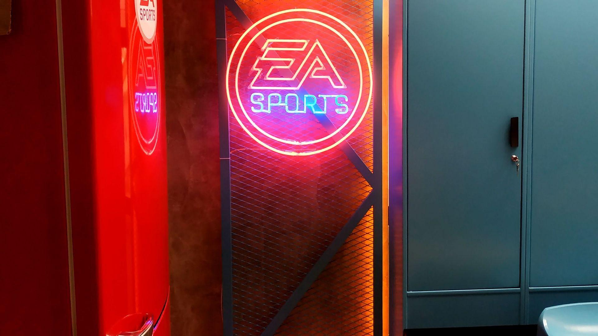 Neón para EA sports