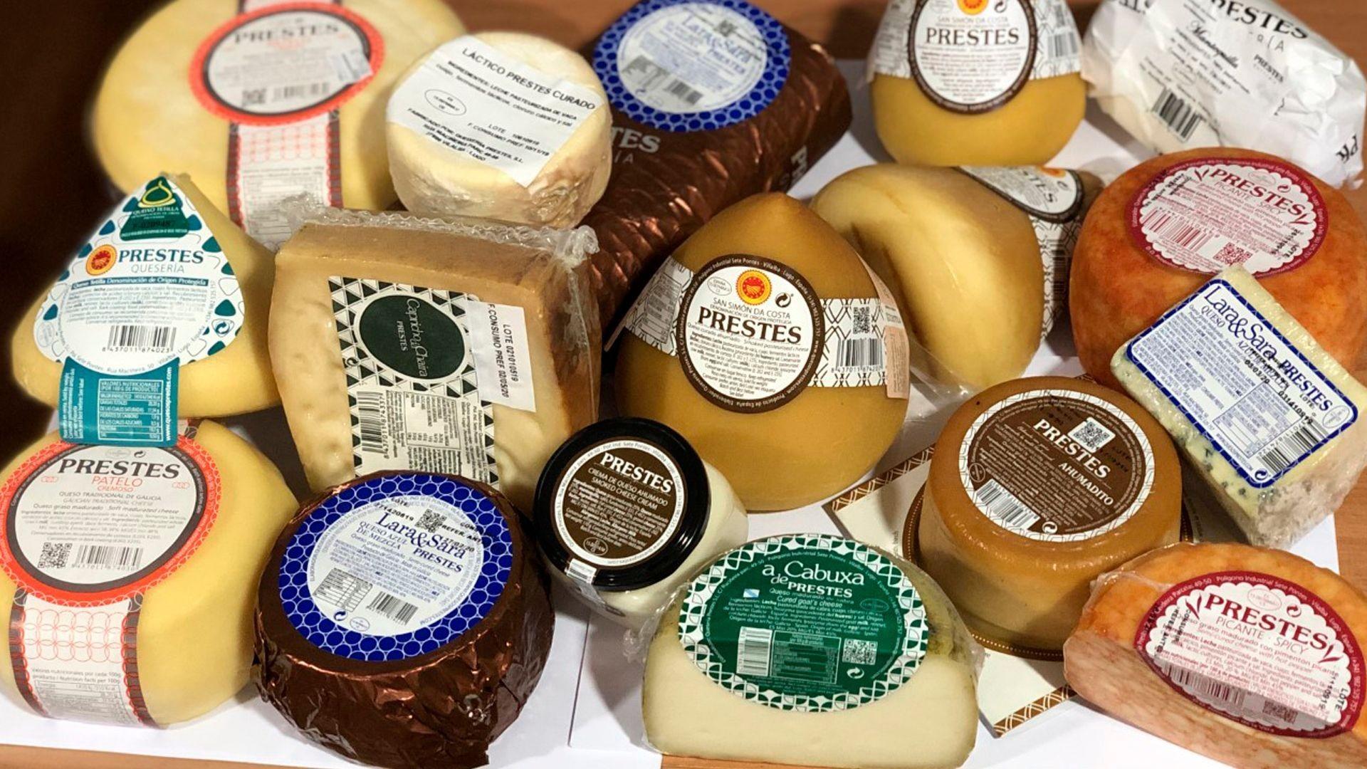 Distribuidos de quesos en Lugo