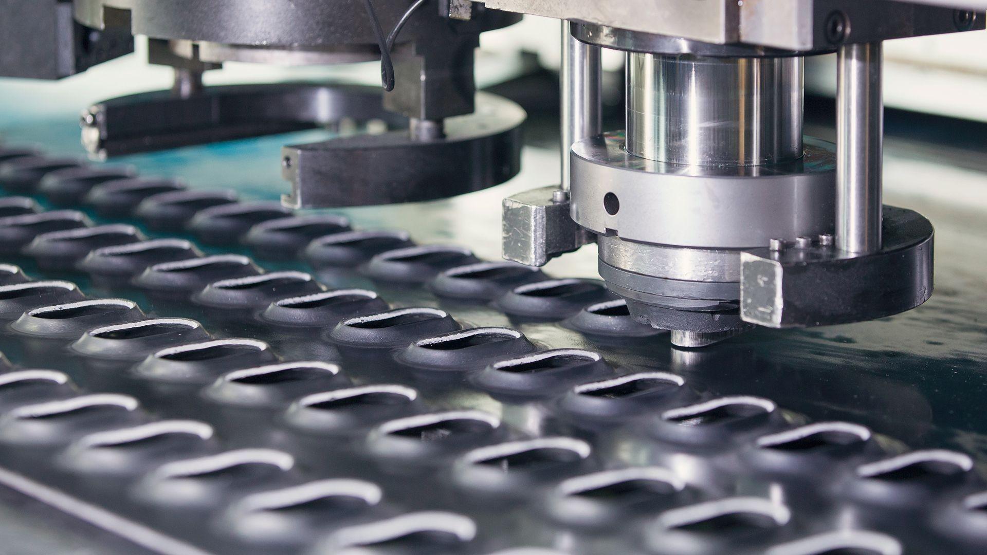 Fabricación y venta de piezas para máquinas en Cantabria