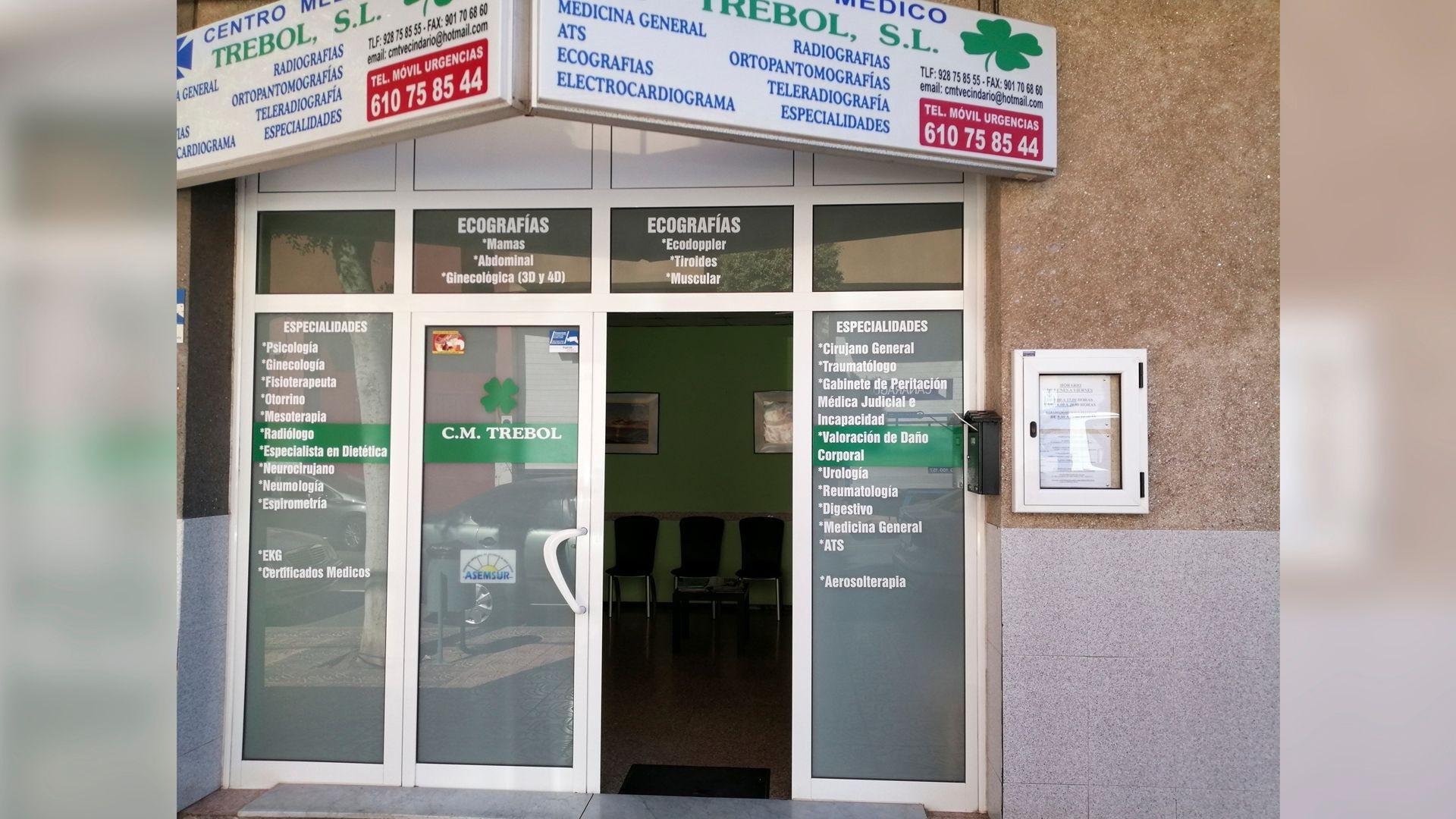 Centro médico en Vecindario
