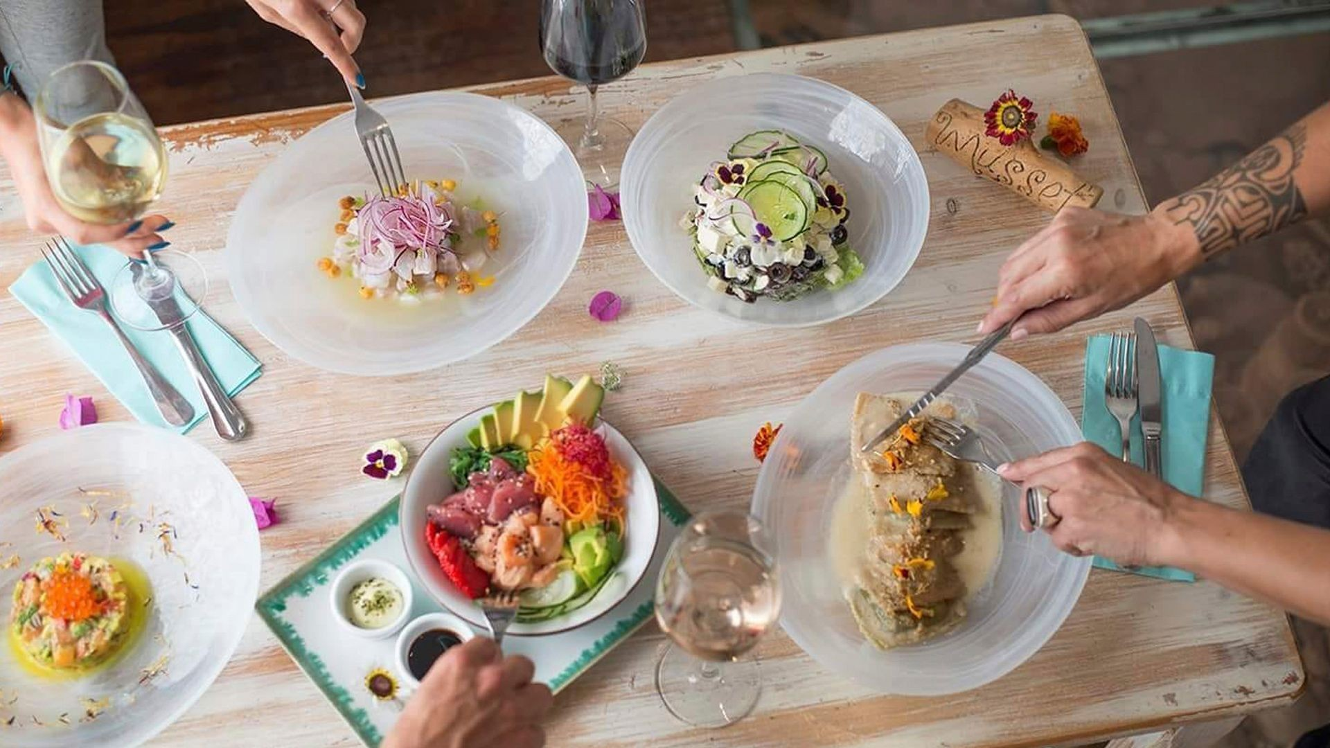Cocina vegetariana en Santa Gertrudis, Ibiza