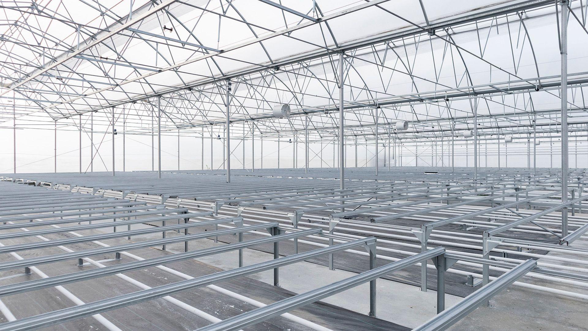 Construcción de invernaderos 3