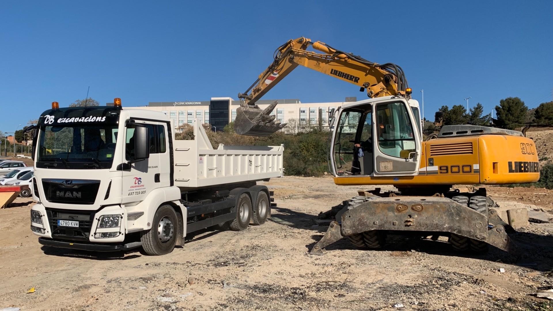 Transports i excavacions sant cugat