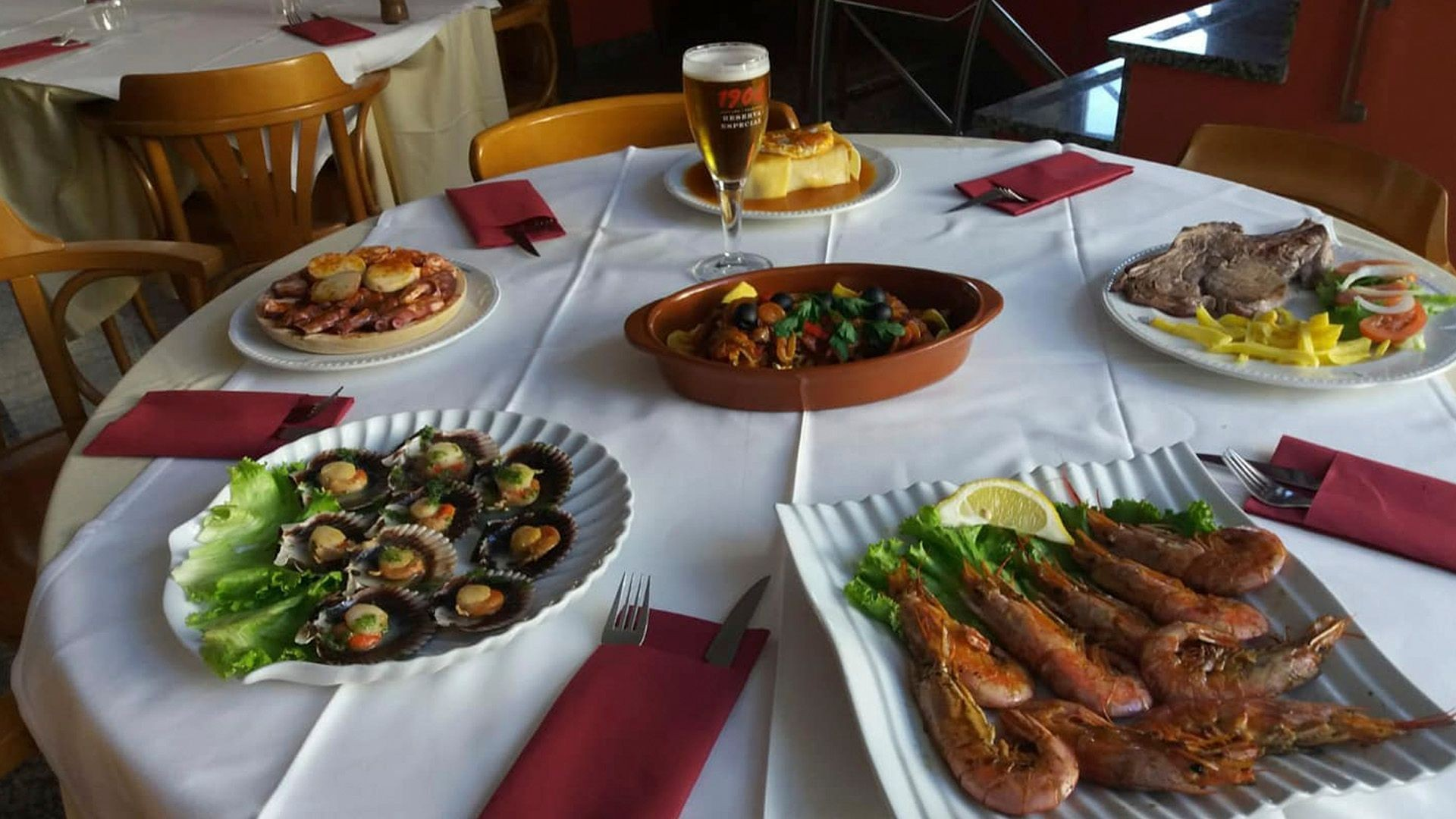 Restaurante para celebraciones en Fene