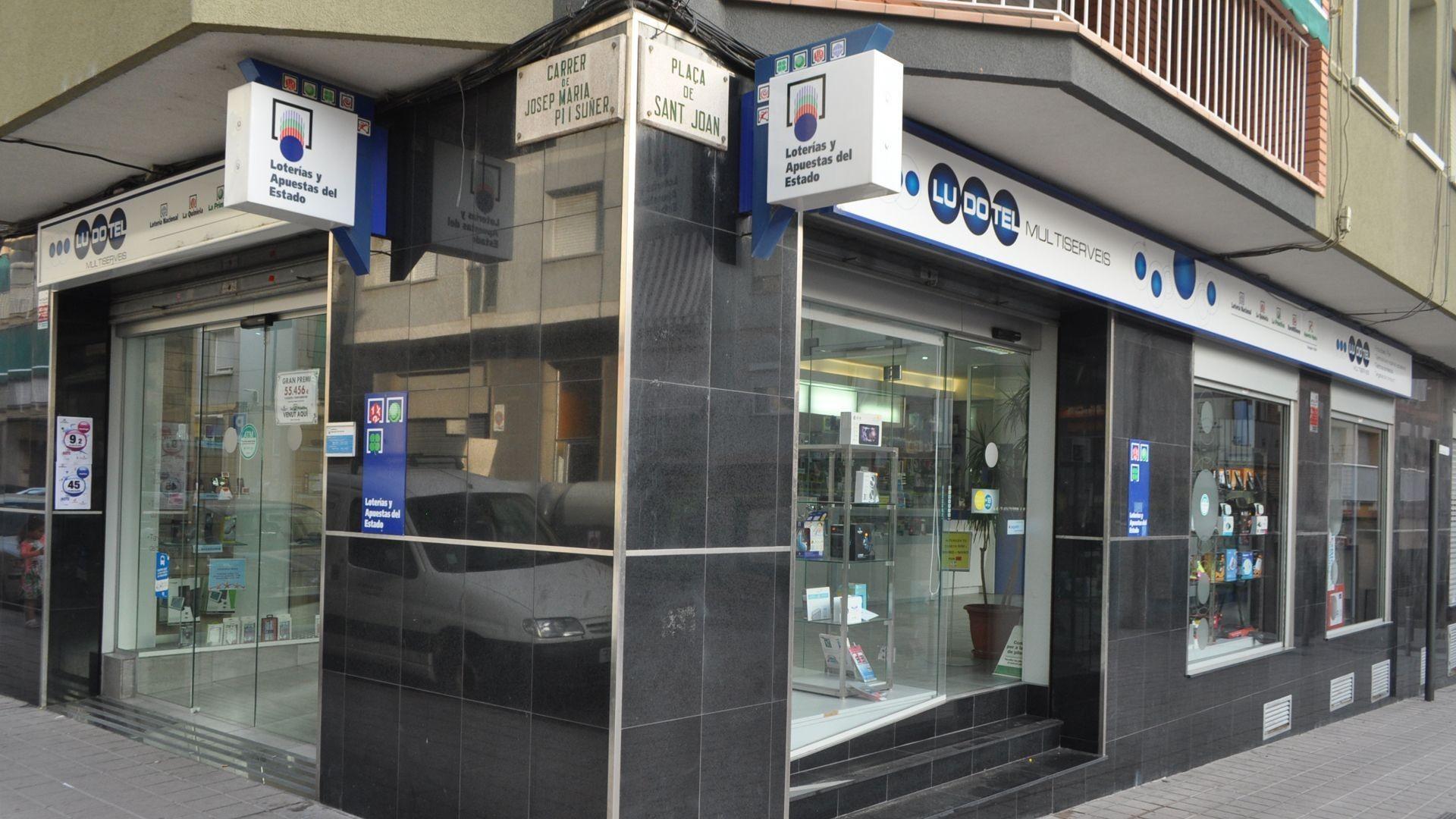 Apuestas y artículos de bazar en Barcelona