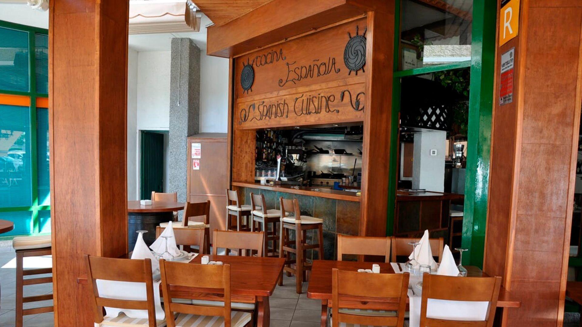 Restaurante de comida española en Arona