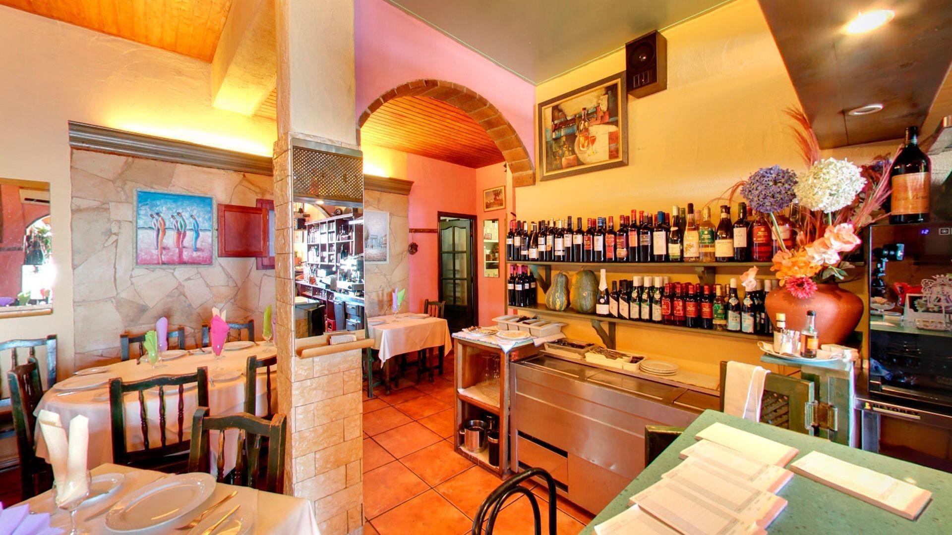 Restaurante romántico en Valverde, El Hierro