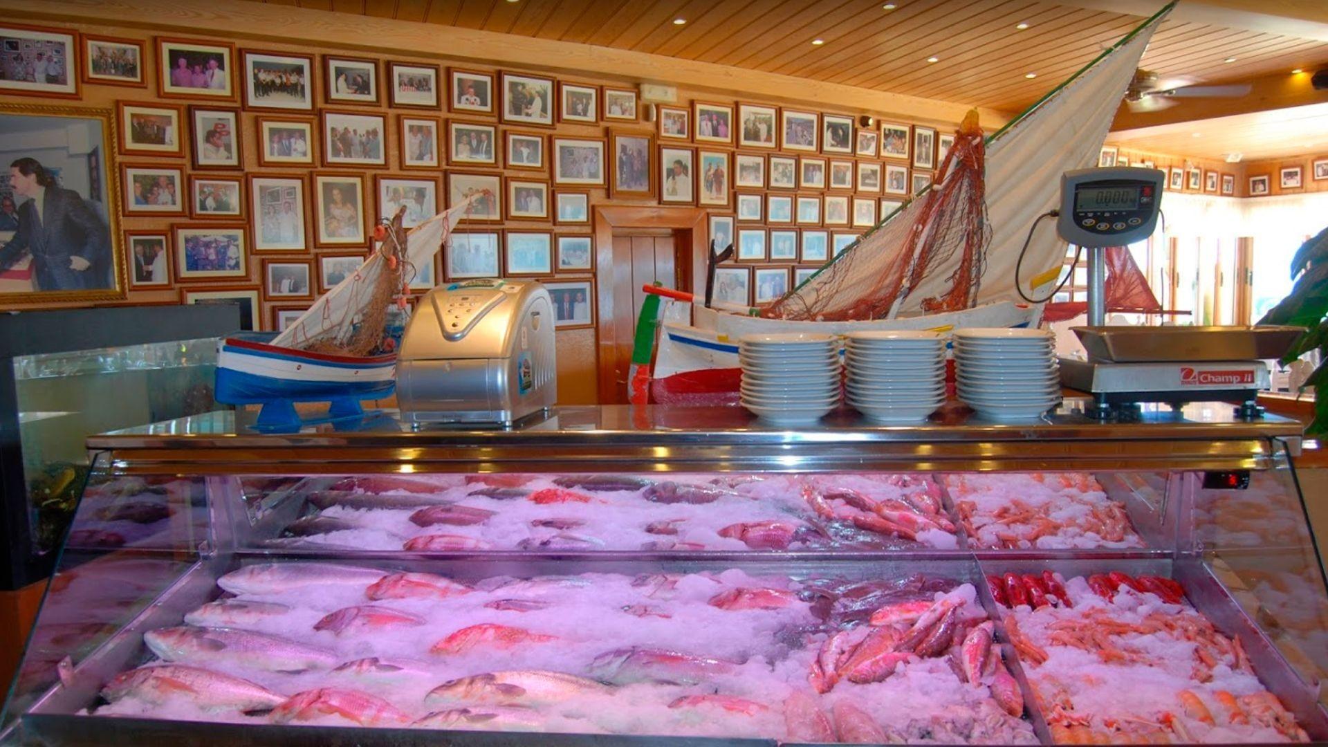 Cocina típica marinera en San Pédro de Alcántara