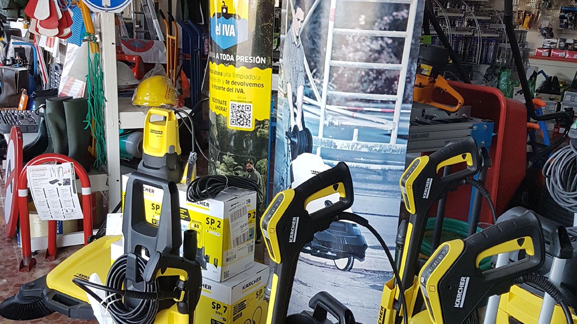 Venta de maquinarias y equipos para la construcción en Ciudad Real