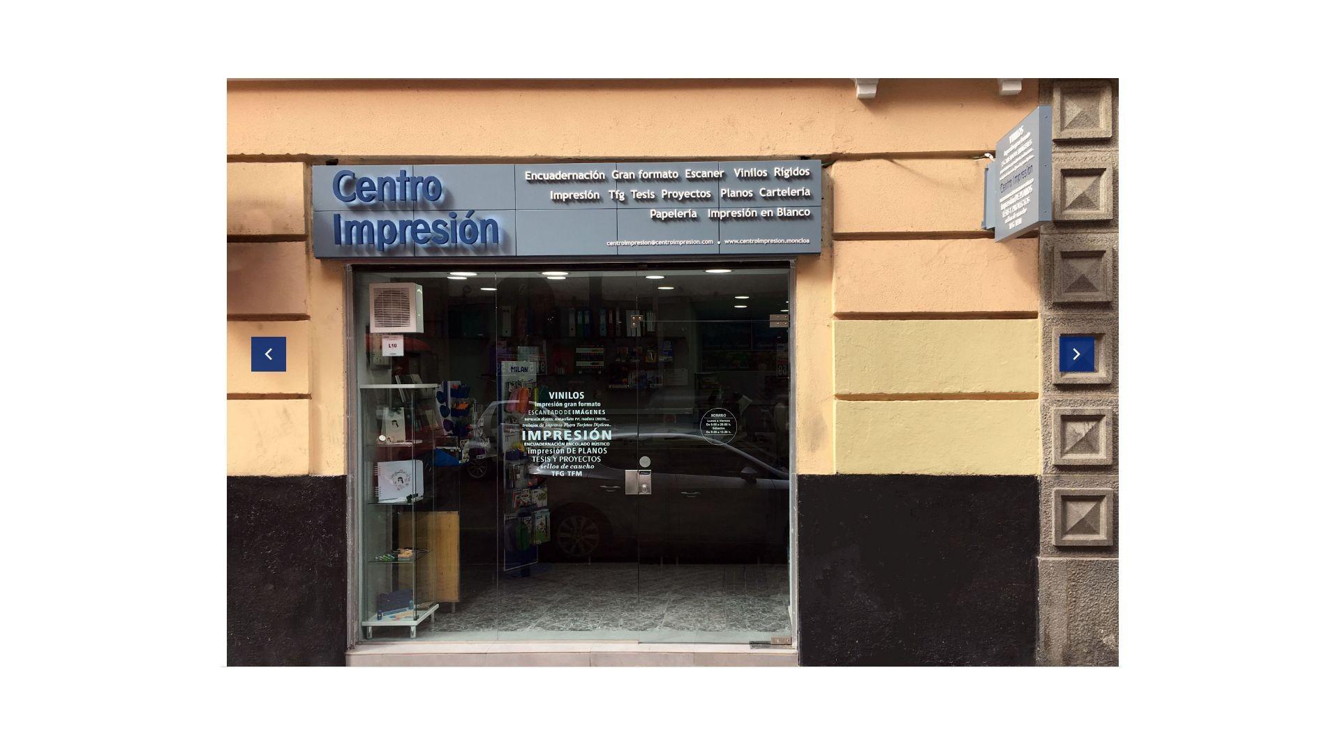 Centro de impresión en Moncloa