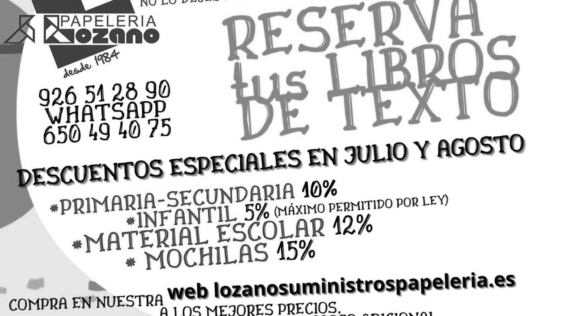 reserva_libros_texto_papelerialozanosuministros