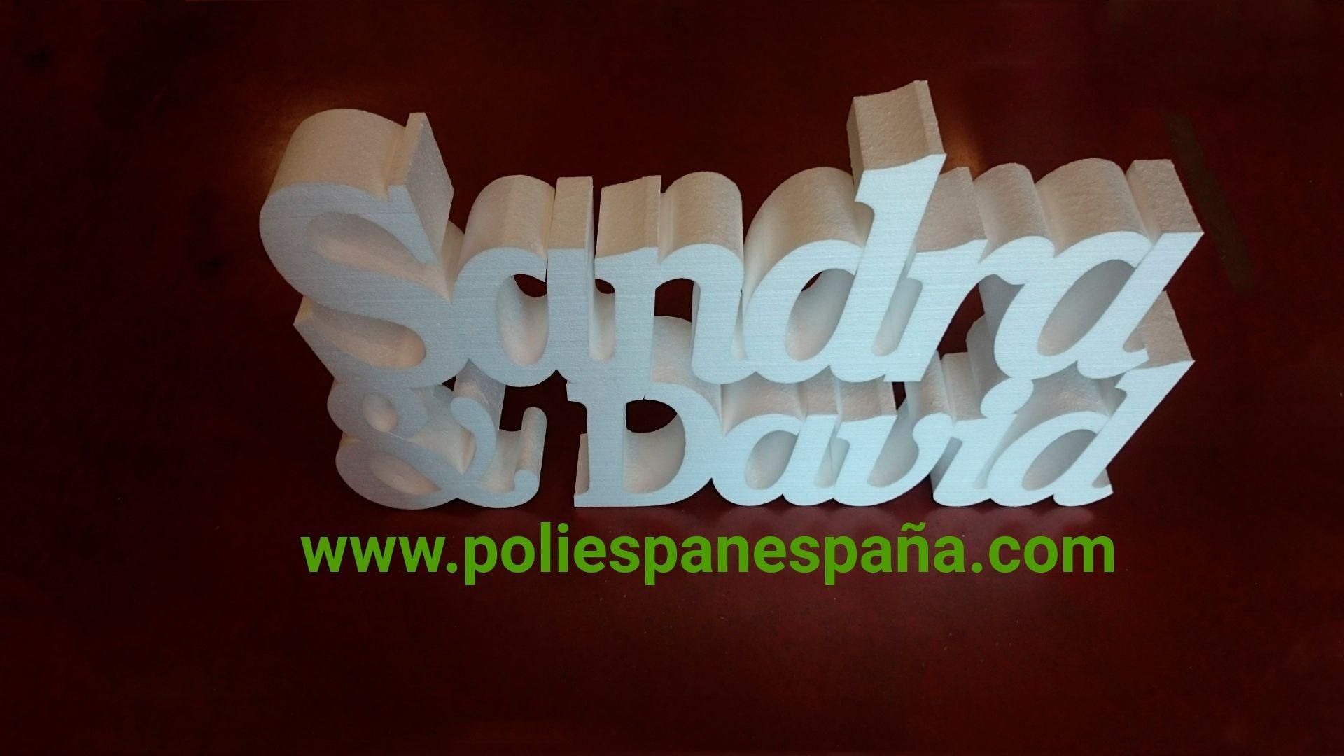 Empresa especializada en letras corpóreas en Toledo