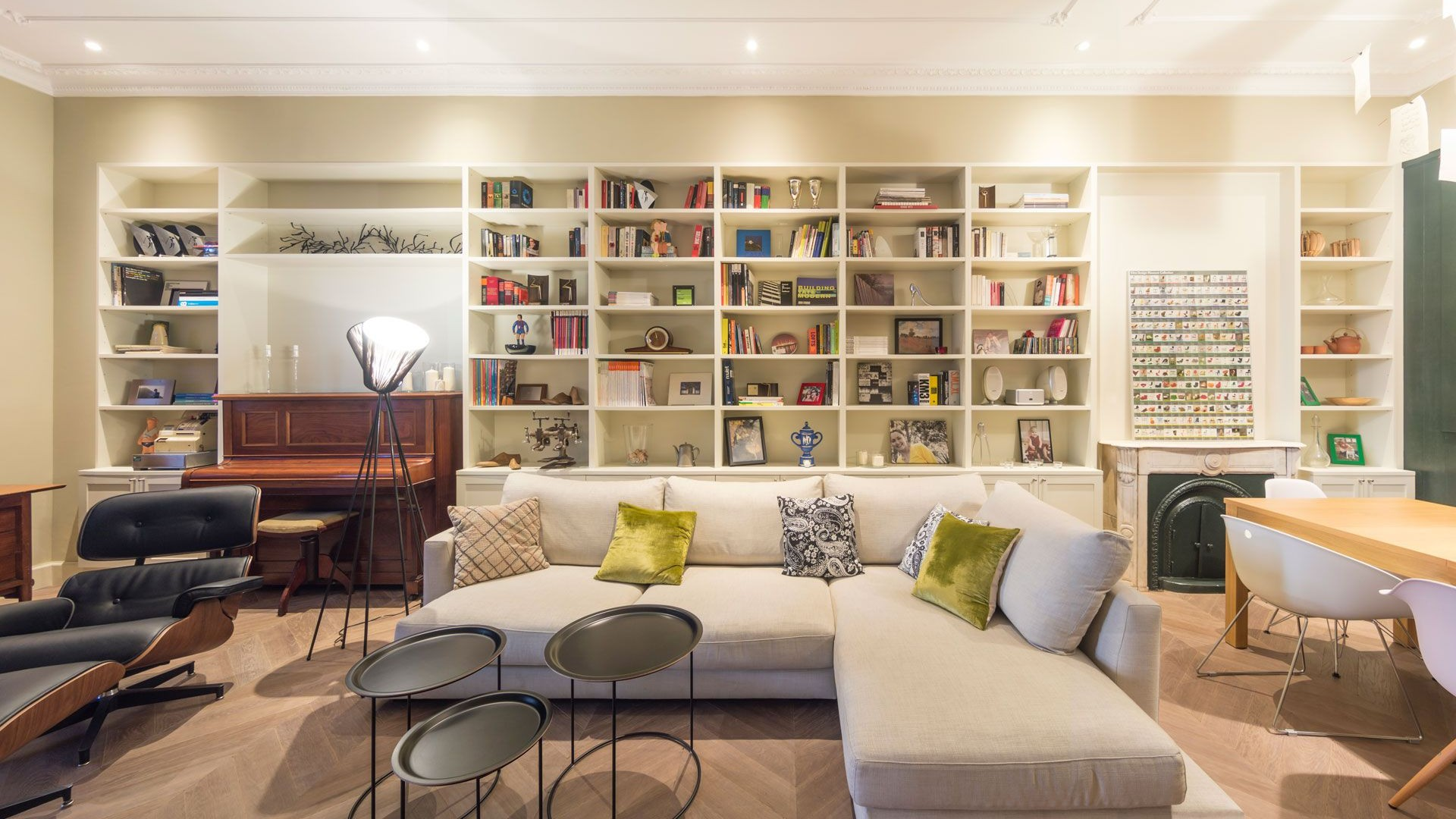 Reformas e interiorismo residencial. Habitatge SF18