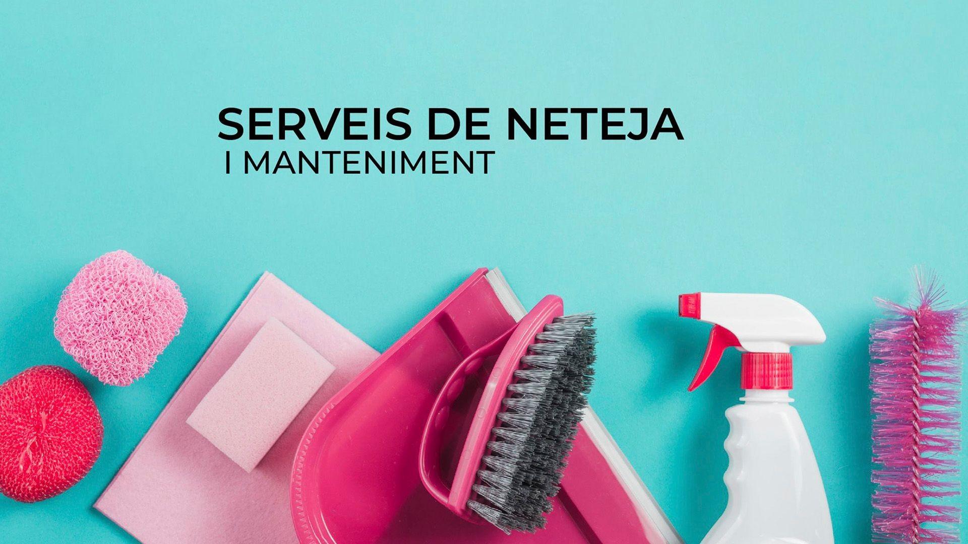 Empresa de limpiezas y mantenimiento en Granollers