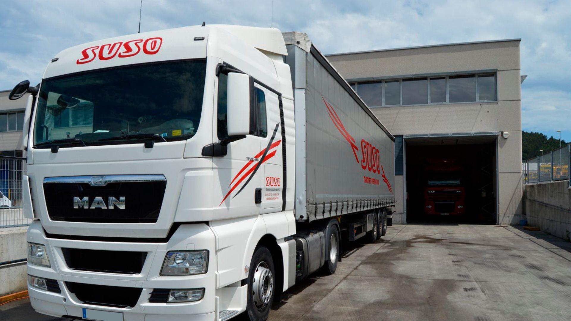 Empresa de transporte de mercancías por carretera en Derio