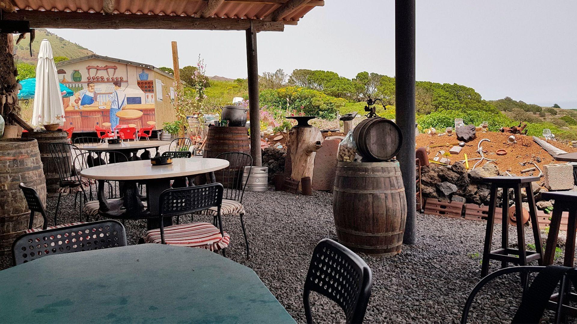 Restaurante típico en Valverde, El Hierro