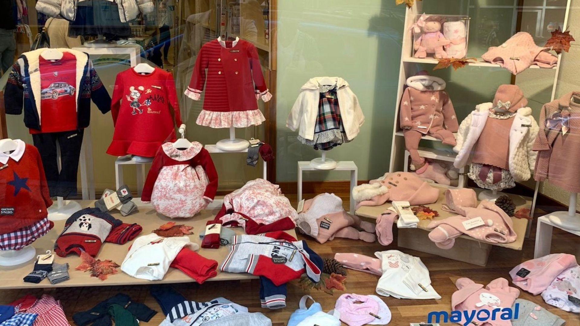 Tienda de ropa para niños en Vizcaya