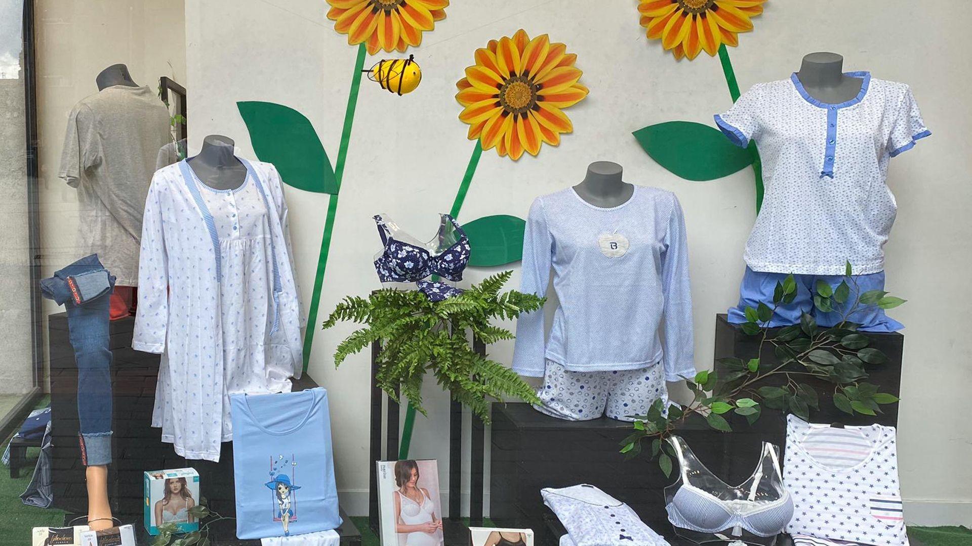 Tienda de ropa interior y pijamas en Bilbao