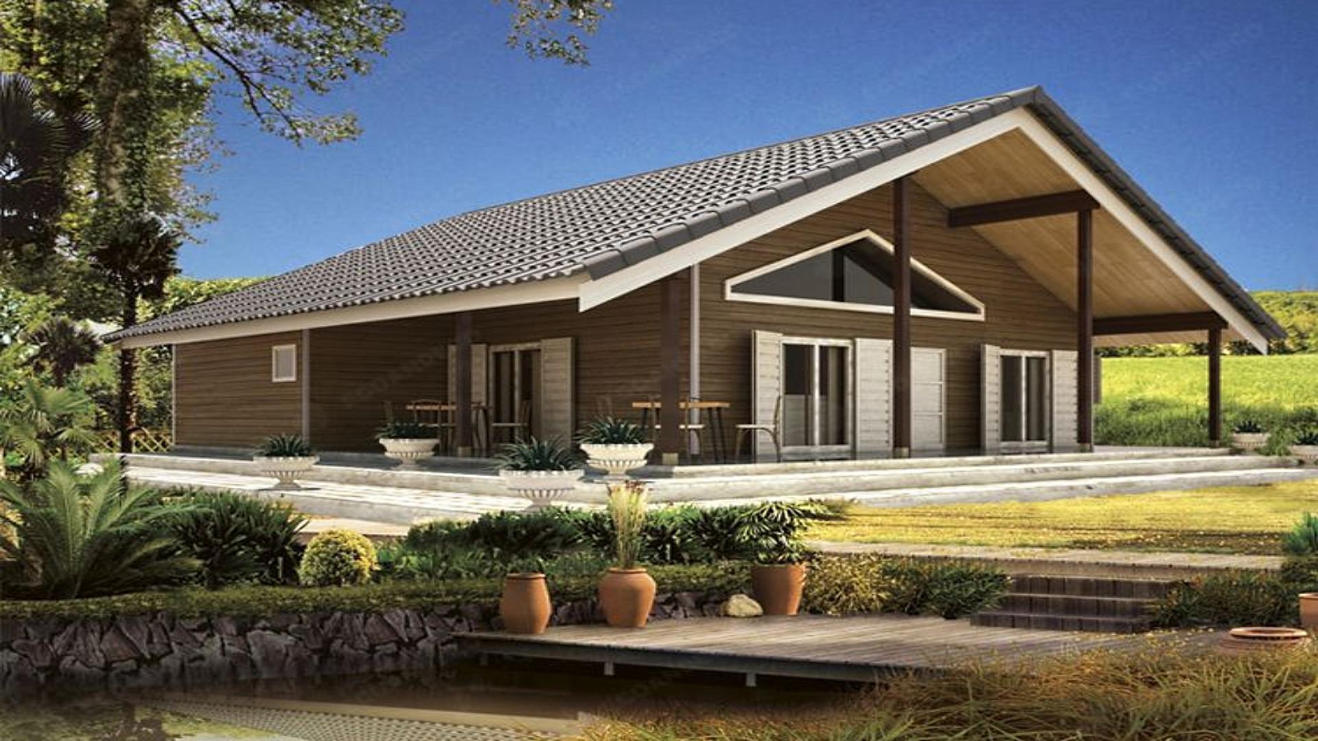 Casas de madera en valencia ecoandeco for Casas de madera valencia