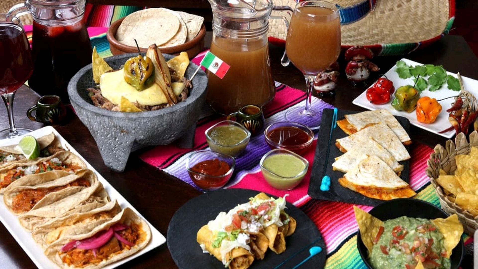 Cocina mexicana en Valencia