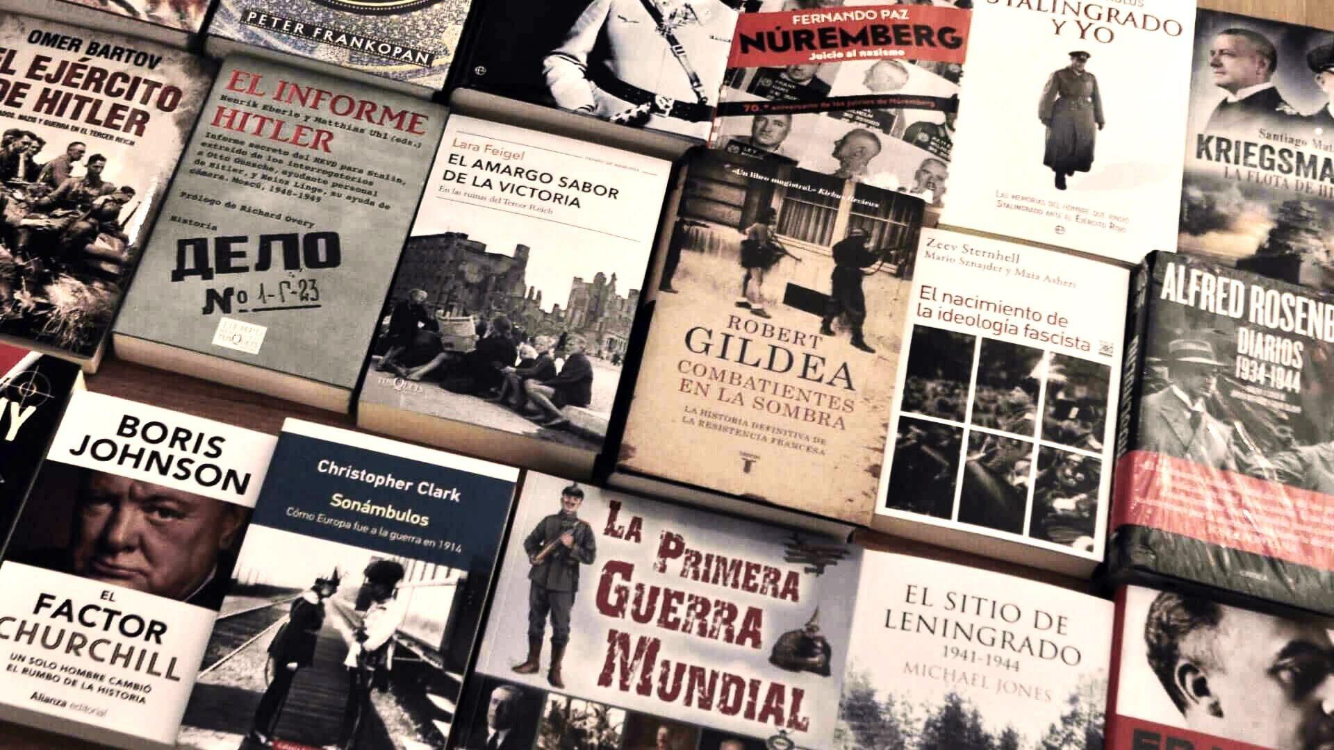 Libros de historia en Madrid