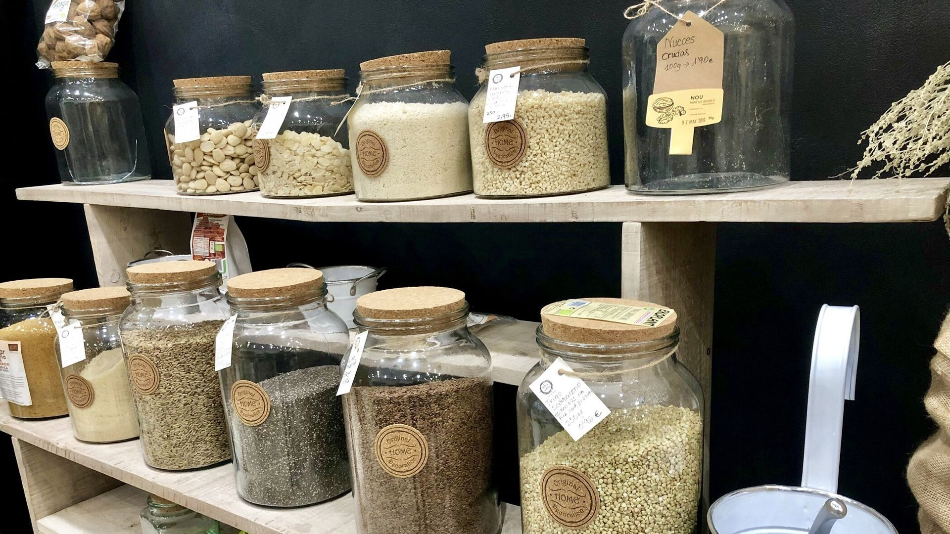 Tienda de productos ecológicos en Castellón