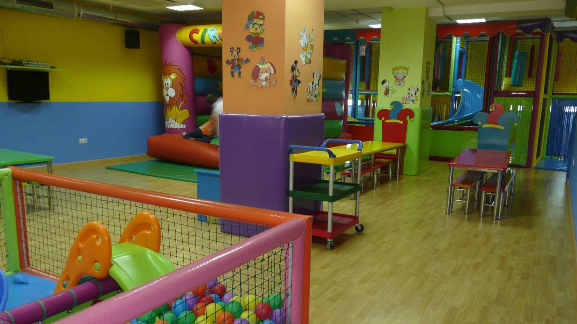 Parque infantil en Albacete
