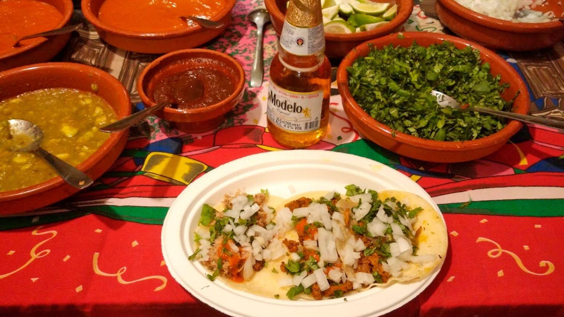 Comida mexicana en Sevilla