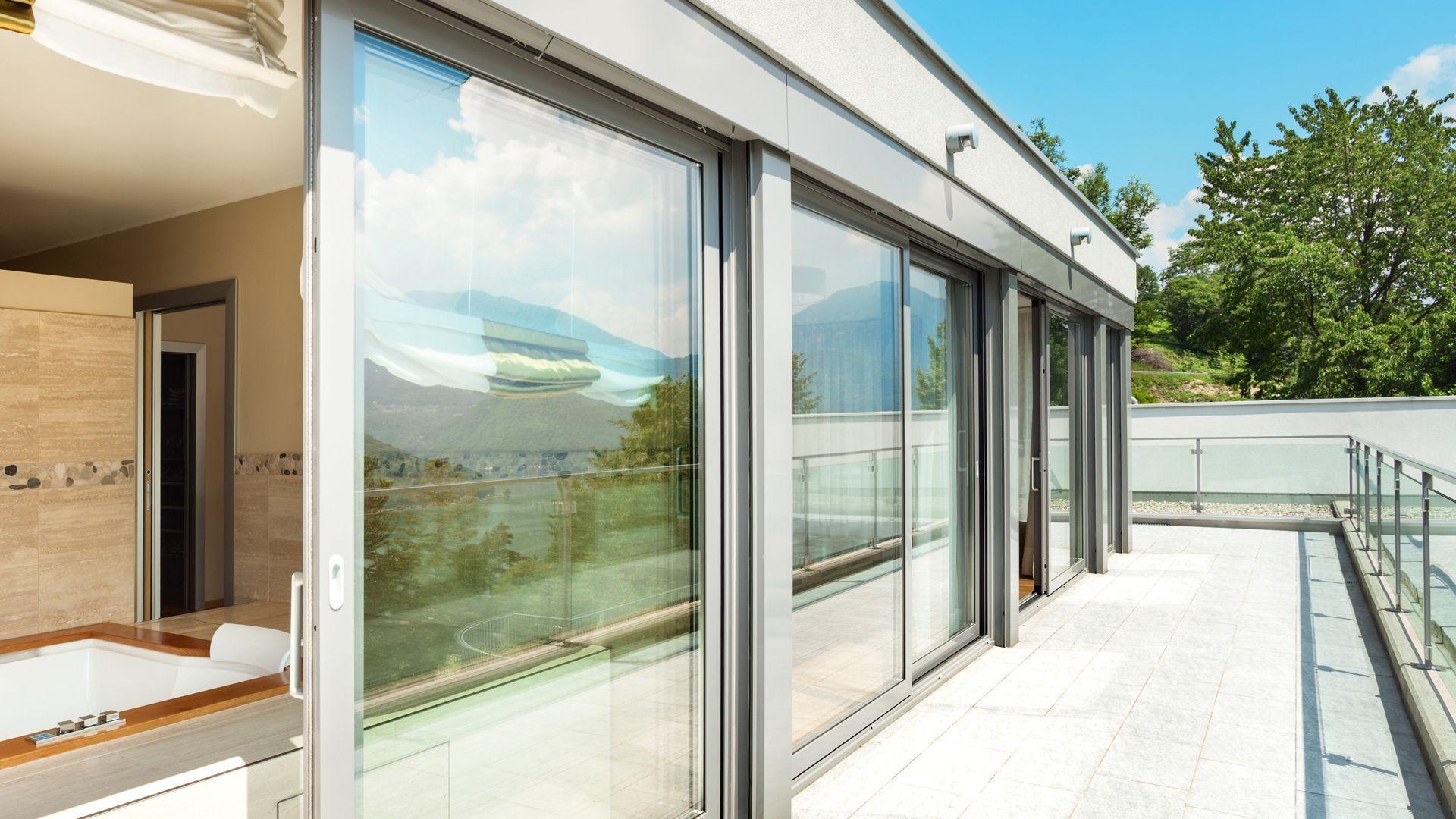 Ventanas y puertas de aluminio en Madrid