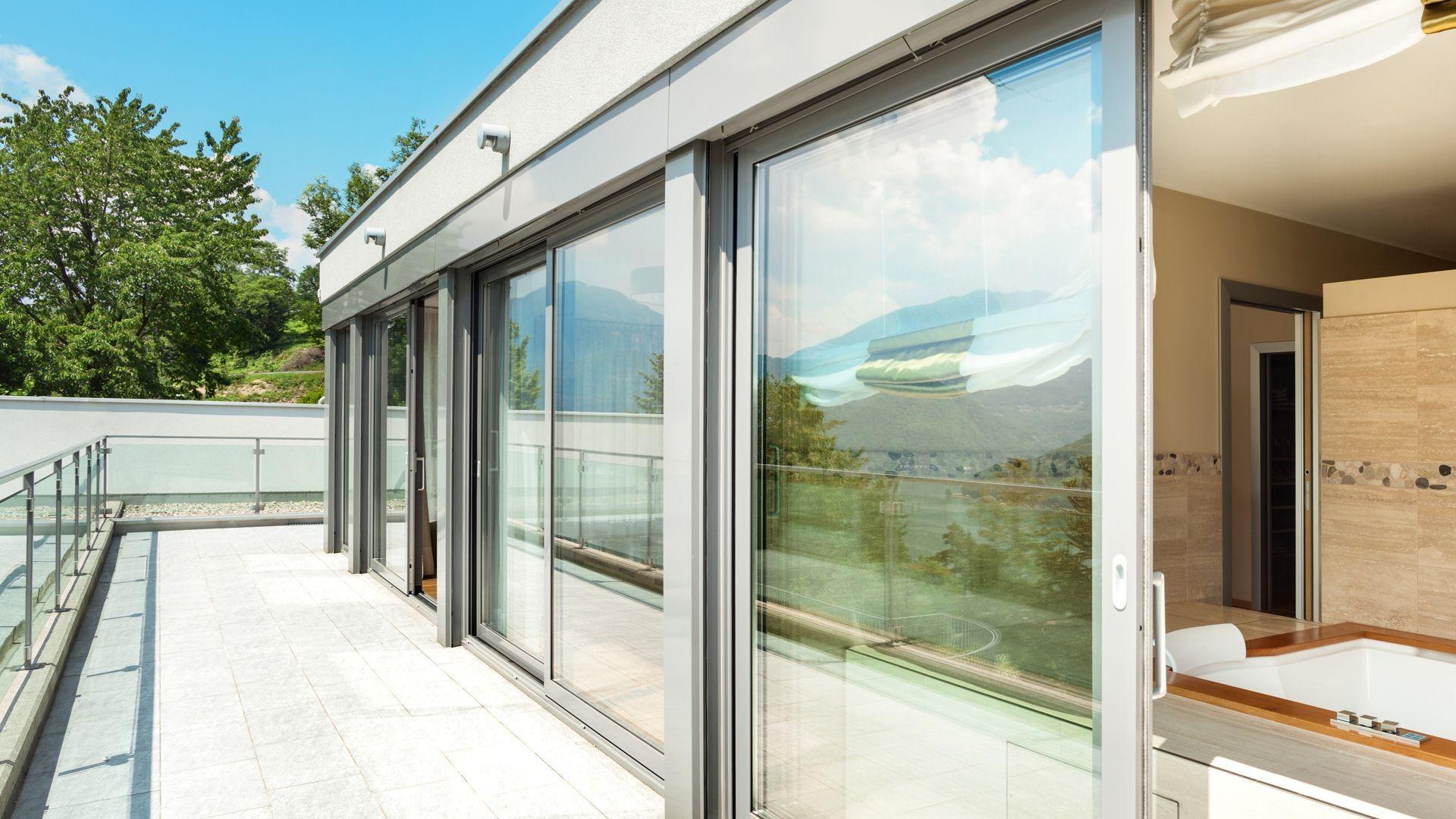 000 aluminio puertas cerramientos decoracion casa chalet vivienda  (1)