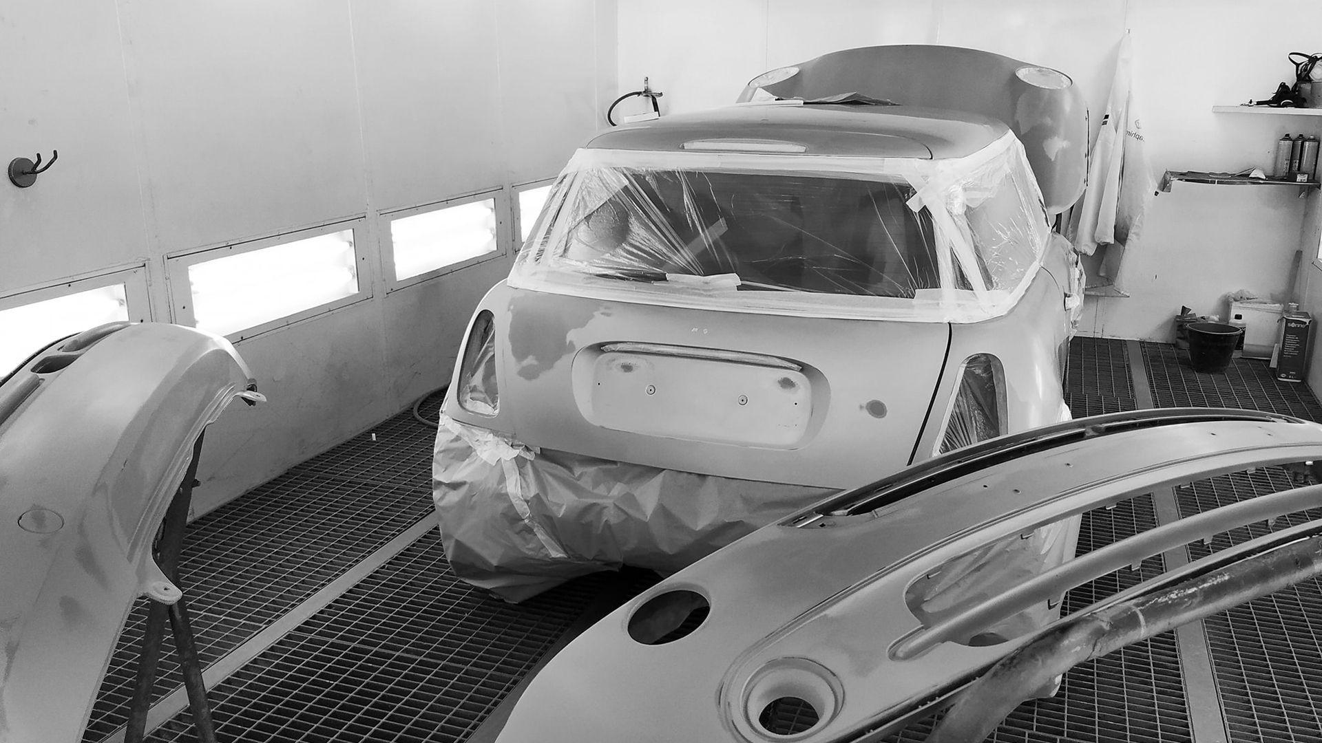 Reparaciones de chapa y pintura de coches en Madrid