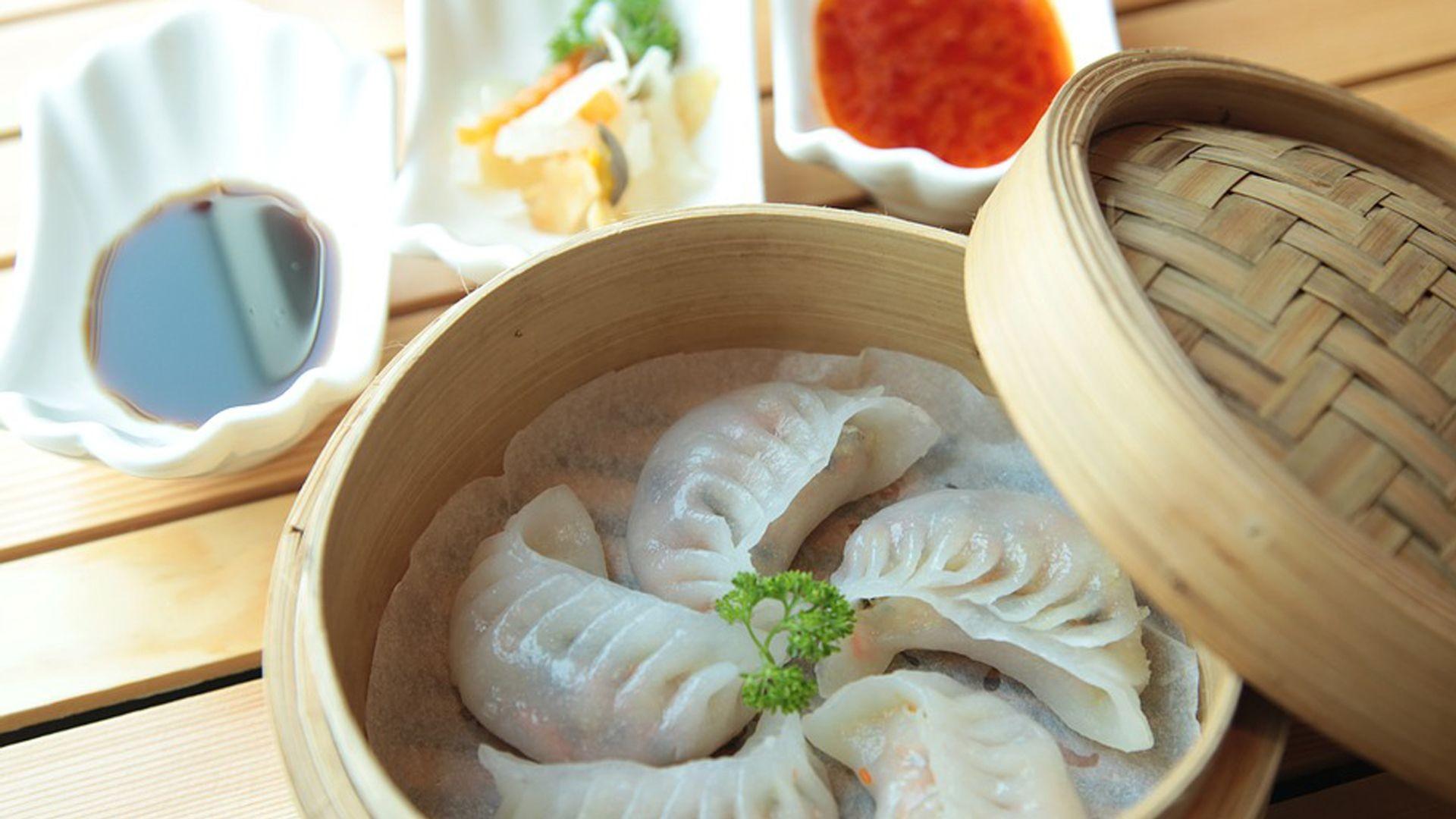 variada gastronomía asiática