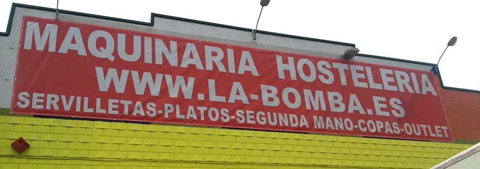 Maquinaria de hostelería de ocasión en Valencia: La Bomba Hostelería