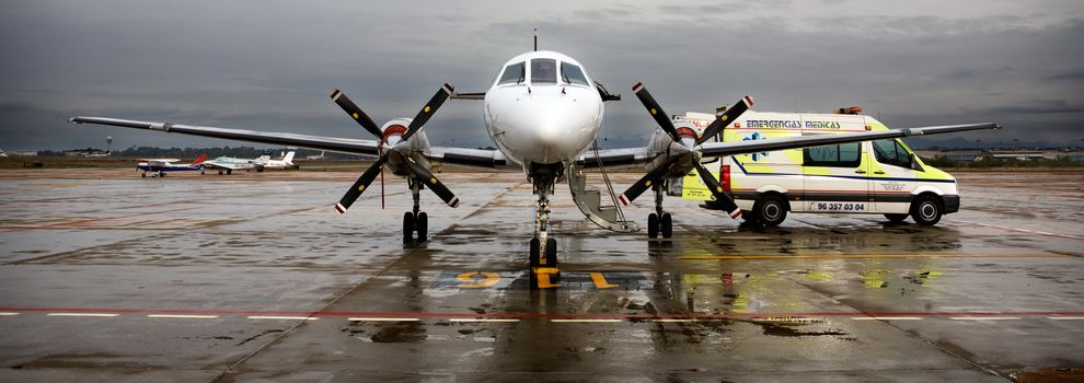 Ambulancia aérea en Valencia | VEM Valenciana de Emergencias Médicas