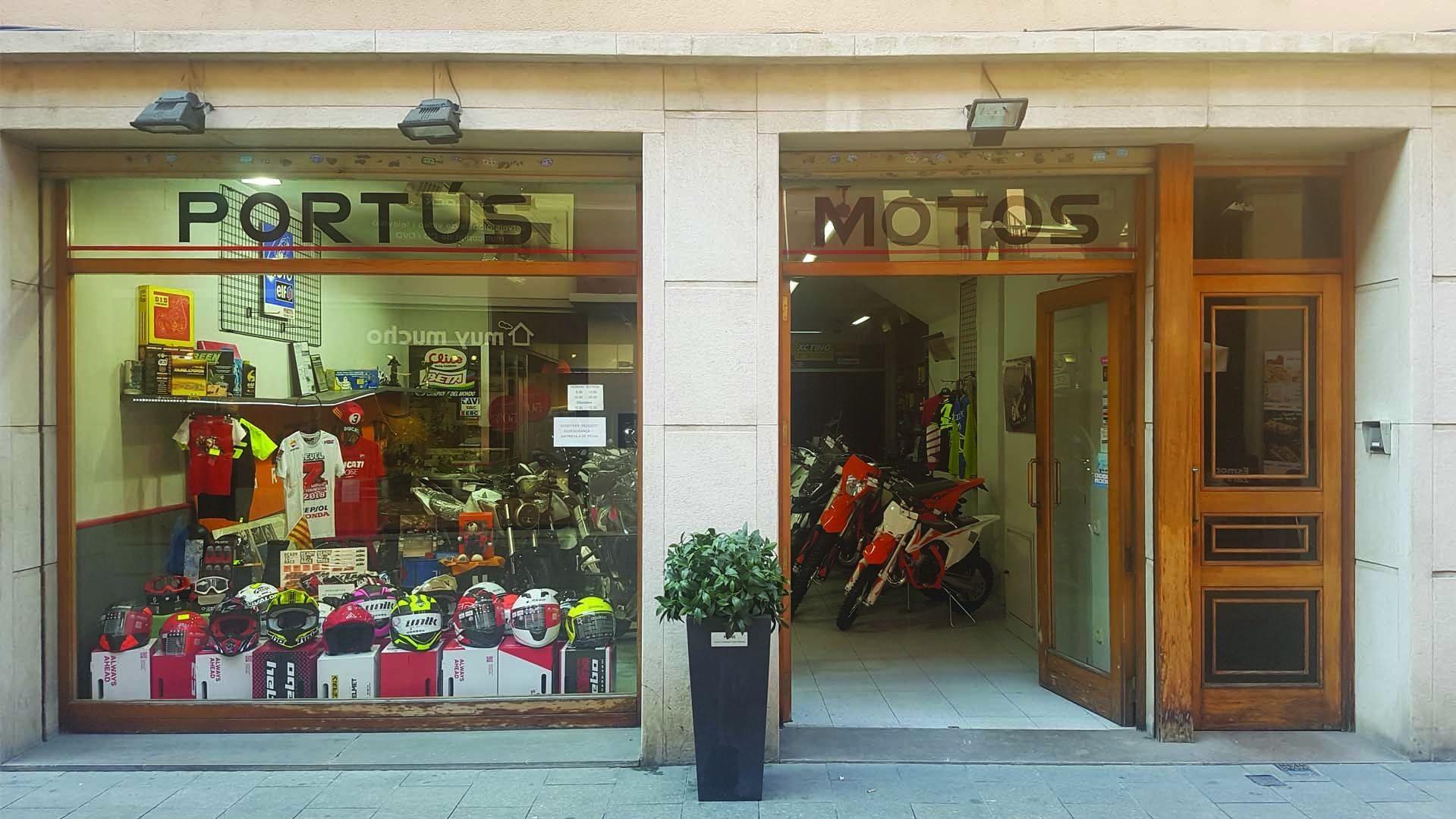Venta de motos y accesorios en Barcelona