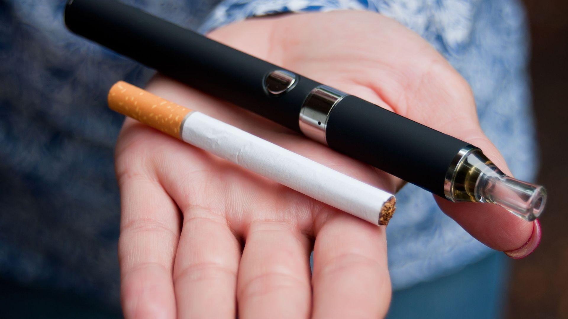 Cigarrillo electrónico en Sarriá