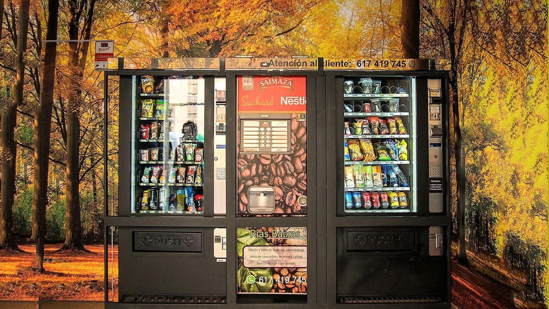 Empresa instaladora de máquinas de vending en Pontevedra