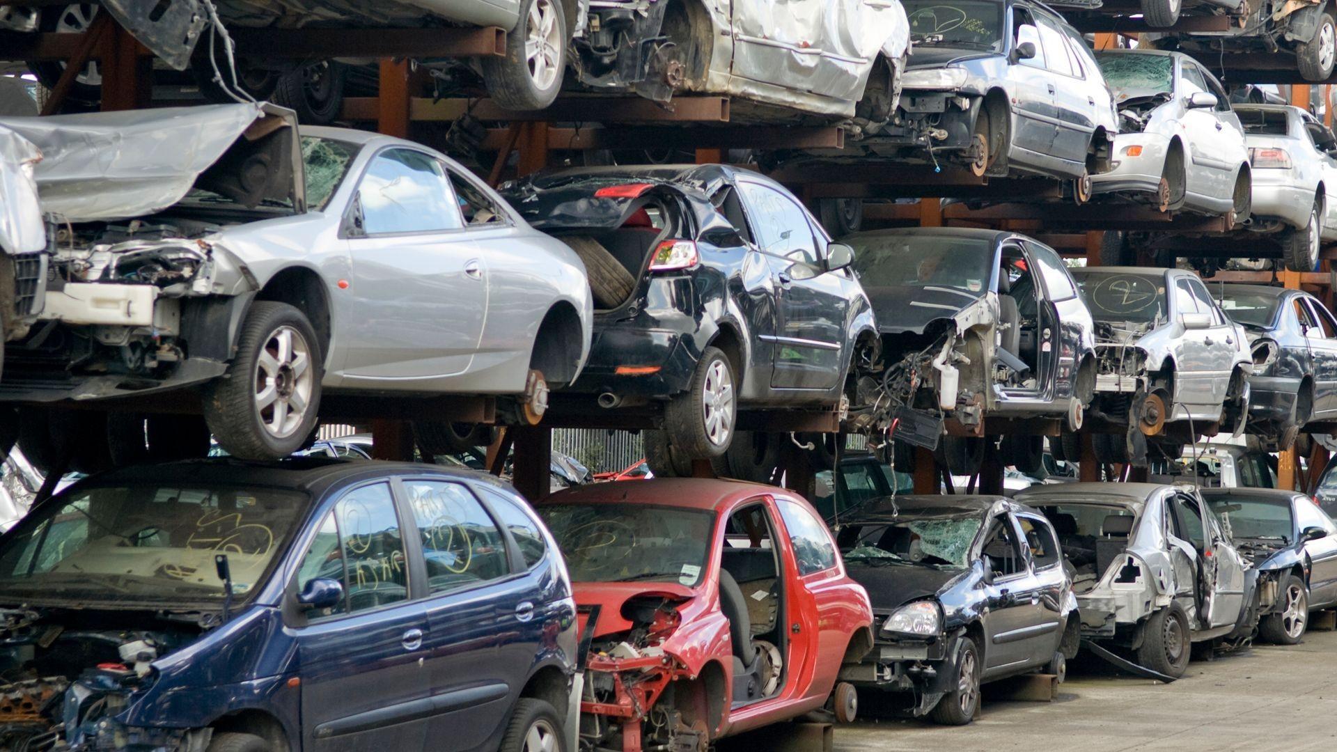 Piezas de desguace para vehículos en Málaga