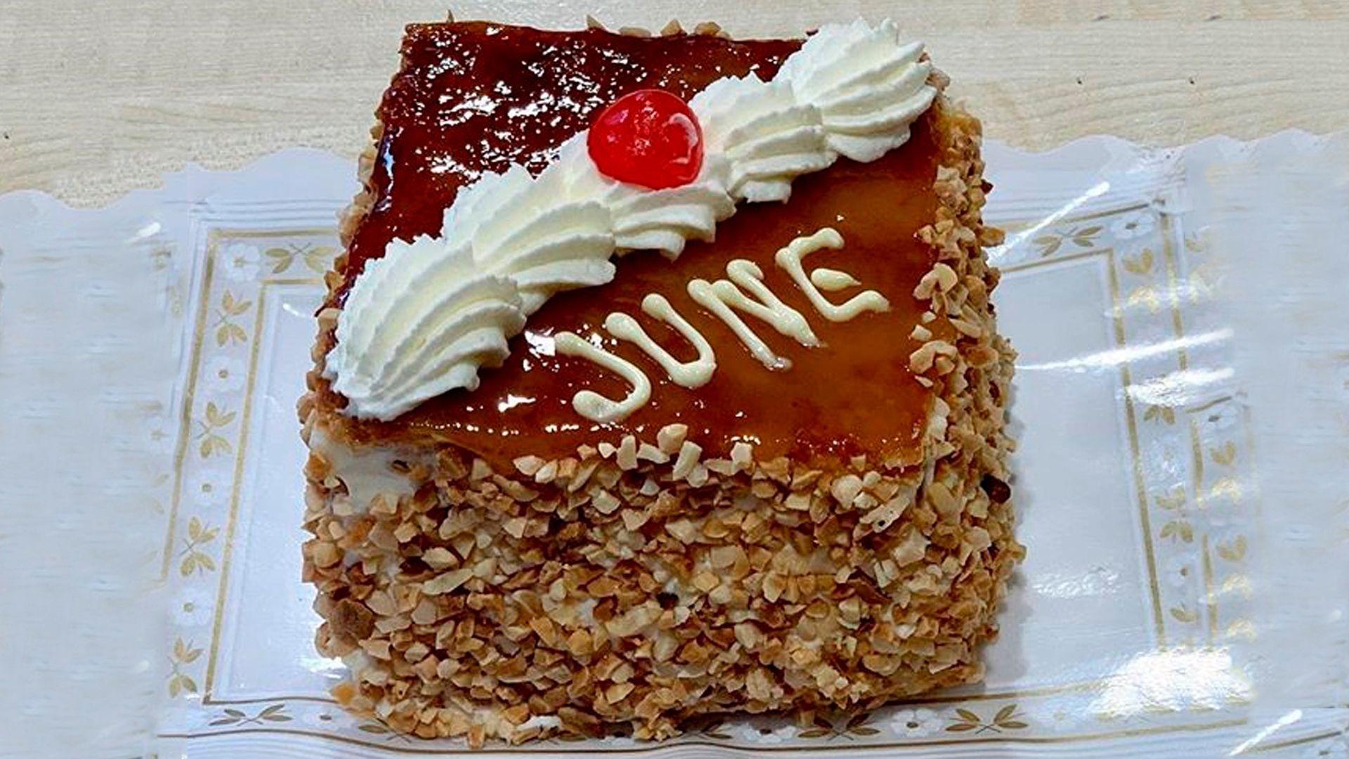 Pasteles y tartas conmemorativos