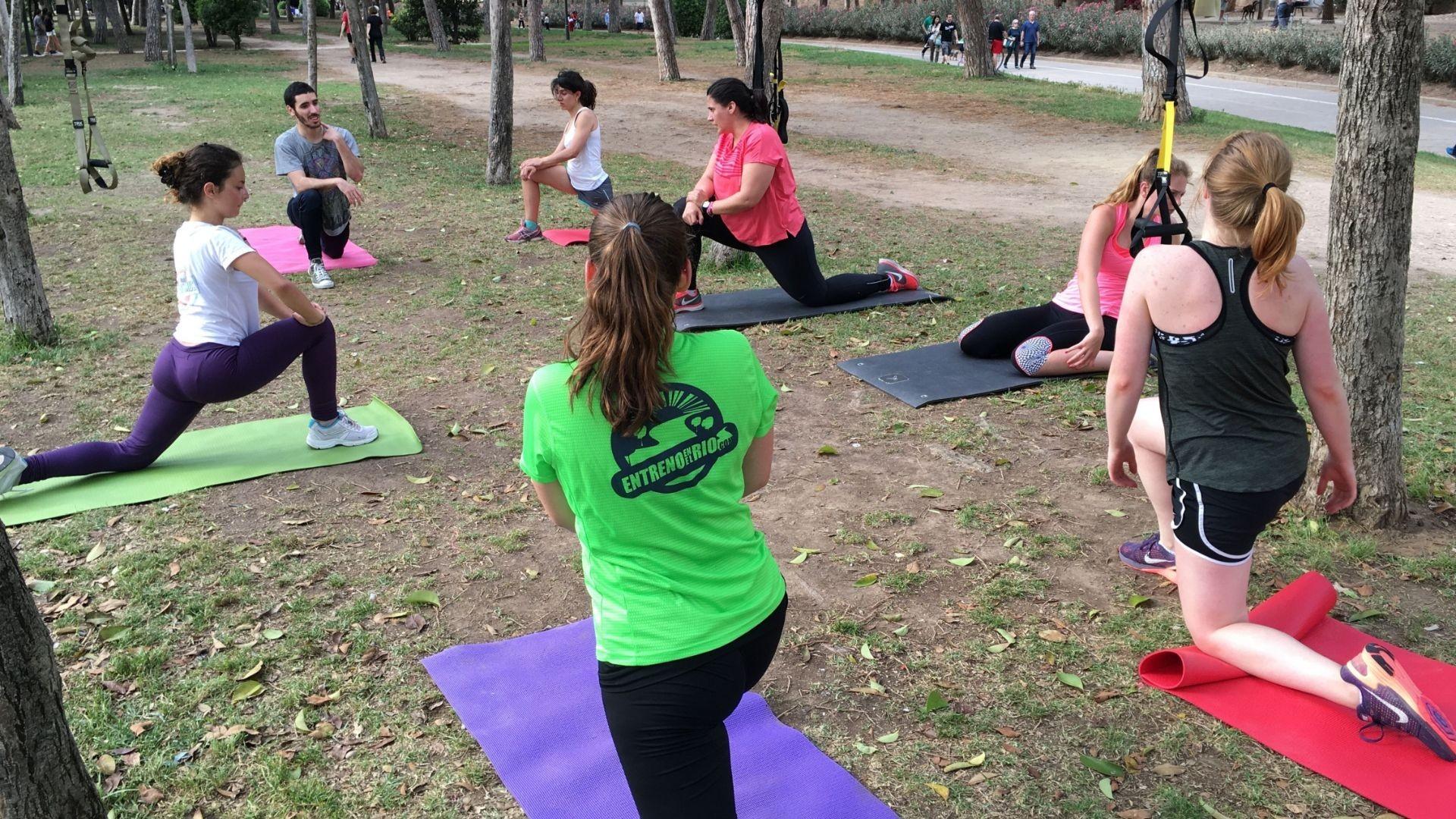 Entrenador Personal en grupos Valencia
