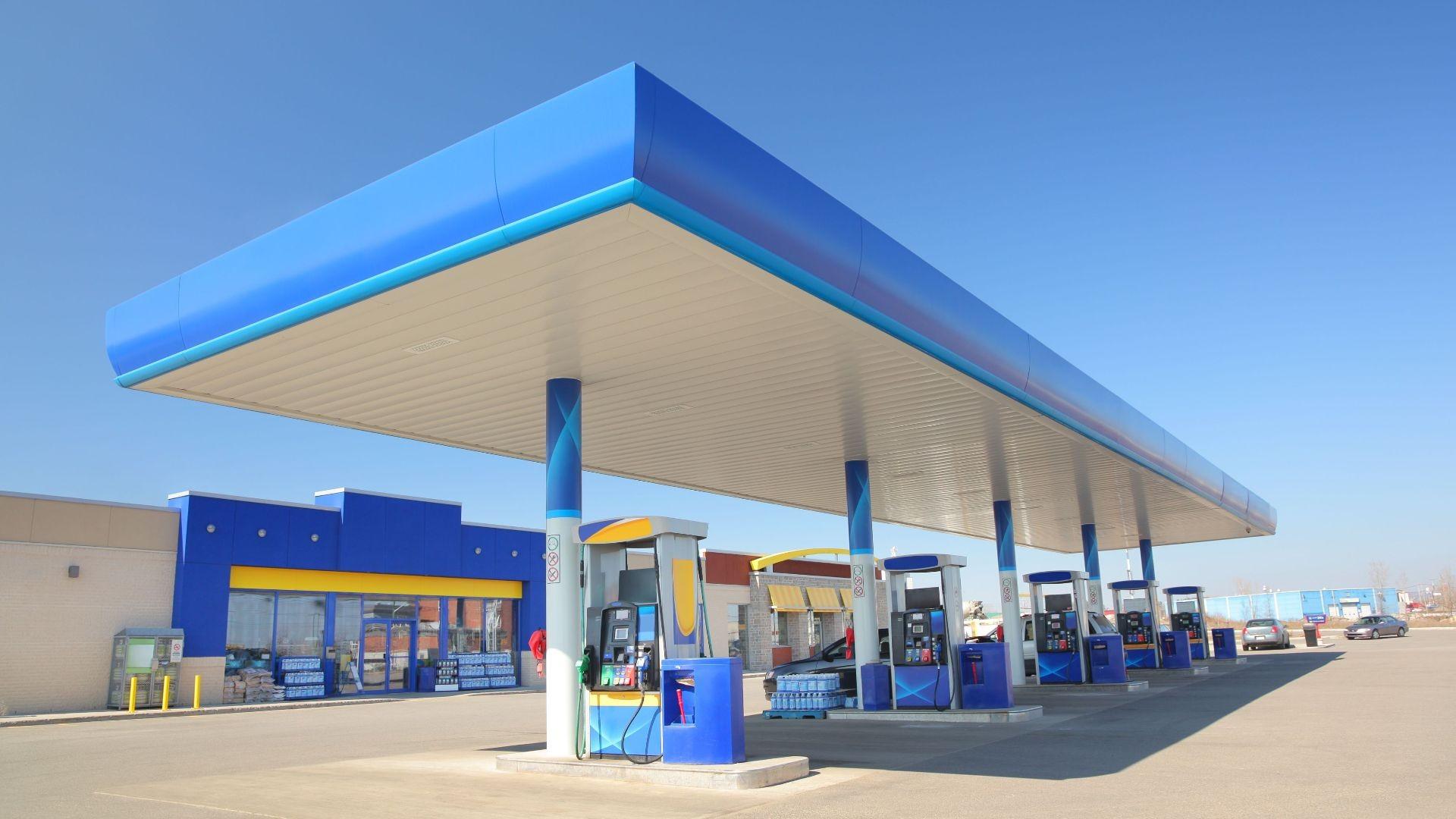 Gasolinera en Huesca
