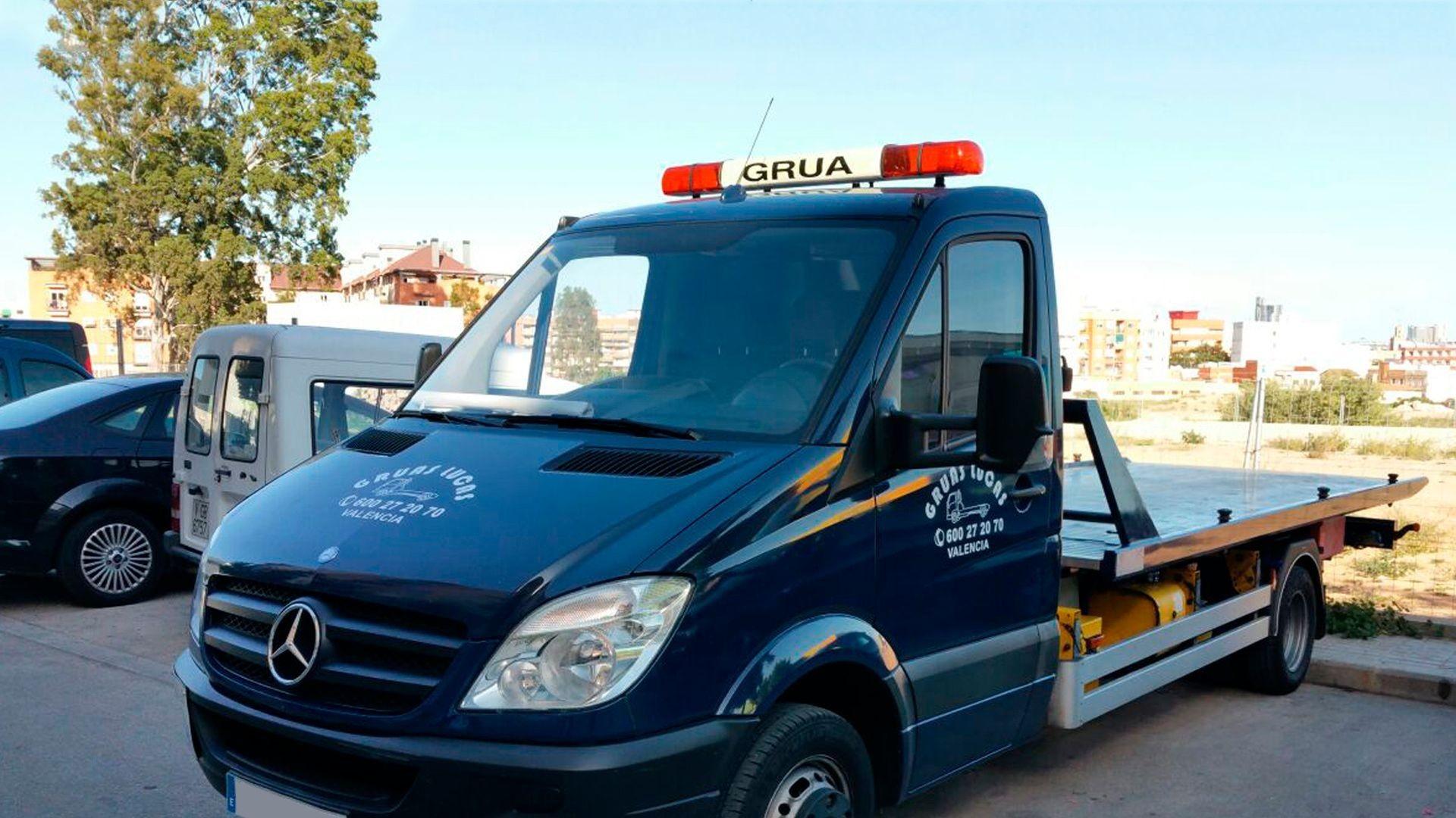 Servicio de grúas en Valencia
