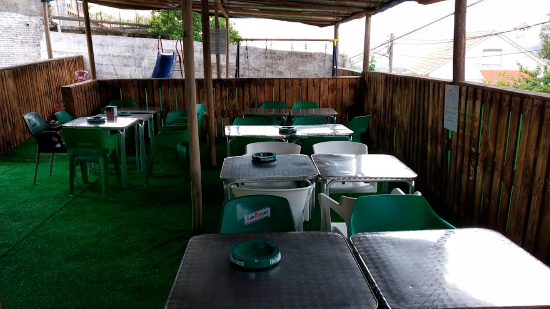 Restaurante con terraza en Vigo