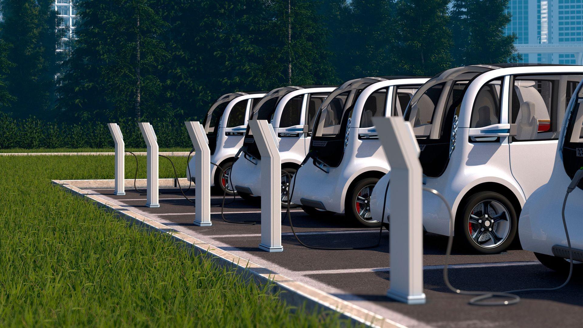 Puntos de recarga para vehículos eléctricos en Sevilla